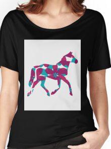 Flower Horse Women's Relaxed Fit T-Shirt