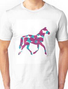 Flower Horse Unisex T-Shirt