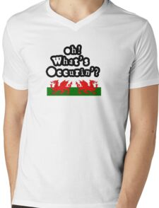 Oh Whats Occurin' ? Mens V-Neck T-Shirt