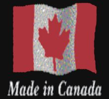 Canadian Flag...Tee by MaeBelle