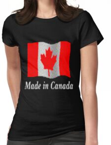 Canadian Flag...Tee Womens Fitted T-Shirt