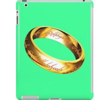 One Ring iPad Case/Skin