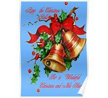 Christmas Bells,Card Poster