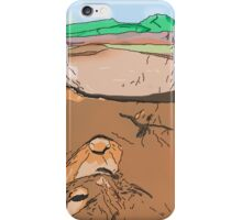 Art & Deco (by Austral Monkey) • Volcano iPhone Case/Skin