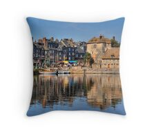 Honfleur, Normandie Throw Pillow