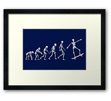 Evolution Skate Framed Print