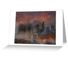Surreal Seattle Greeting Card
