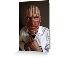 Making ends meat Greeting Card