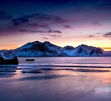 Arctic Twilight by John Dekker