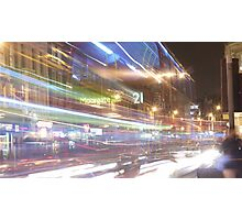 Night Bus Photographic Print