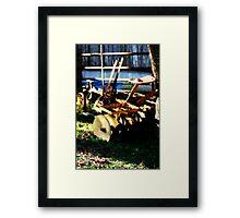 Plow Framed Print