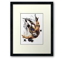 Vega From STREET FIGHTER Framed Print