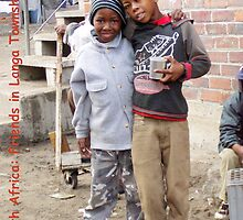 South Africa: Friends in Langa Township by Laurel Talabere