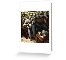 After The Case Greeting Card