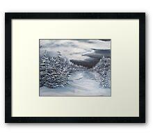Bitter Cold Framed Print