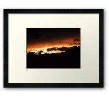 see y'a tomorrow Framed Print