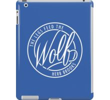 Feed The Wolf iPad Case/Skin