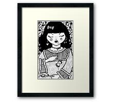 Snow White's Sleep  Framed Print