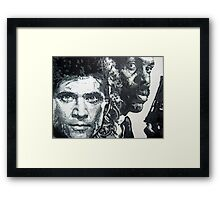 Lethal weapon iconic piece by artist Debbie Boyle - db artstudio Framed Print