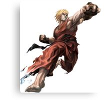 Ken from Street Fighter ! Canvas Print