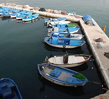 Fishing Boats at Gallipoli Harbour  by jojobob