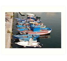 Gallipoli Harbour  Art Print