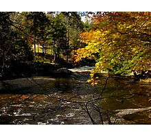 Fowler River in October Photographic Print