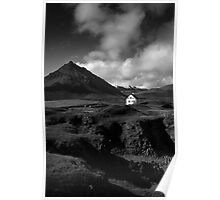 The White House, Schnæfellsnes, Iceland Poster