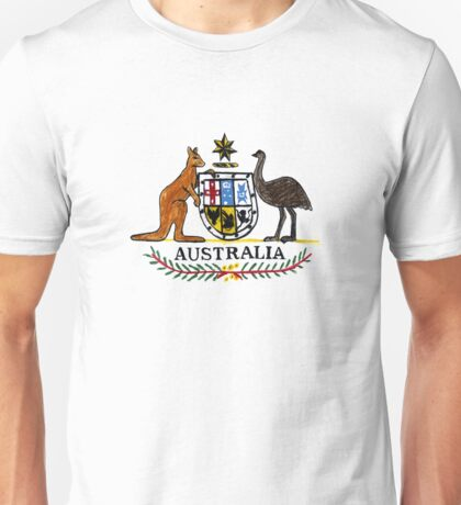 AUSTRALIA Coat of Arms Unisex T-Shirt