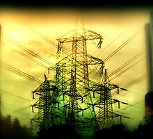 Pylons by Lynne Haselden