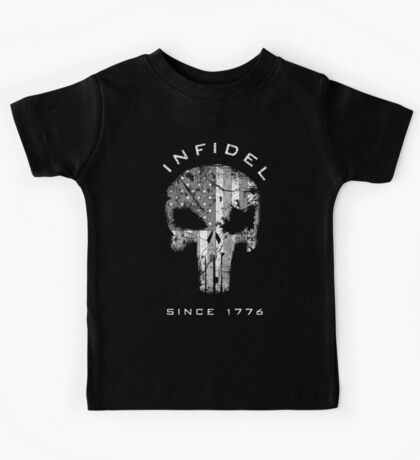 American Punisher 2.0 - Infidel Subdued Kids Tee