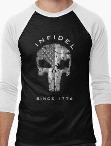 American Punisher 2.0 - Infidel Subdued Men's Baseball ¾ T-Shirt