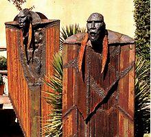 Iron Giants Photographic Print