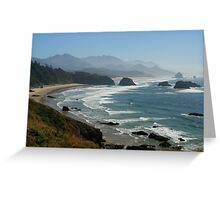 Ecola State Park, Oregon Greeting Card