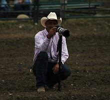 Cochrane Lions Rodeo #3, 2009, Canada. by Felicity McLeod