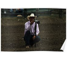 Cochrane Lions Rodeo #3, 2009, Canada. Poster