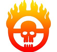 Mad Max - Warboy Skull Wheel  by MikeTheGinger94