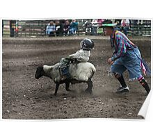 Cochrane Lions Rodeo #4, 2009, Canada. Poster