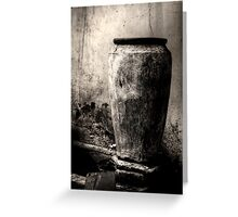 Water container Greeting Card