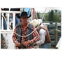 Cochrane Lions Rodeo #6, 2009, Canada. Poster