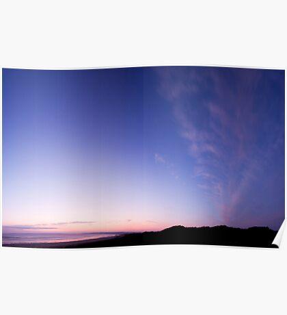 Waratah sky Poster