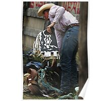 Cochrane Lions Rodeo #7, 2009, Canada. Poster