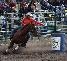 Cochrane Lions Rodeo #8, 2009, Canada. by Felicity McLeod