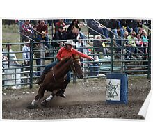 Cochrane Lions Rodeo #8, 2009, Canada. Poster