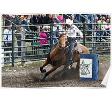 Cochrane Lions Rodeo #9, 2009, Canada. Poster