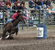 Cochrane Lions Rodeo #11, 2009, Canada. by Felicity McLeod
