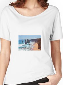 Ocean and Rocks Women's Relaxed Fit T-Shirt