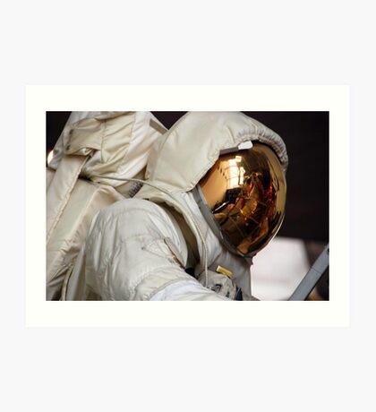 Lunar Space Suit & LEM... Apollo 4 Art Print