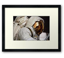 Lunar Space Suit & LEM... Apollo 4 Framed Print