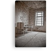 Abandoned Bed Canvas Print